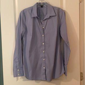 Ann Taylor Women's Dress Shirt in French Blue (8)